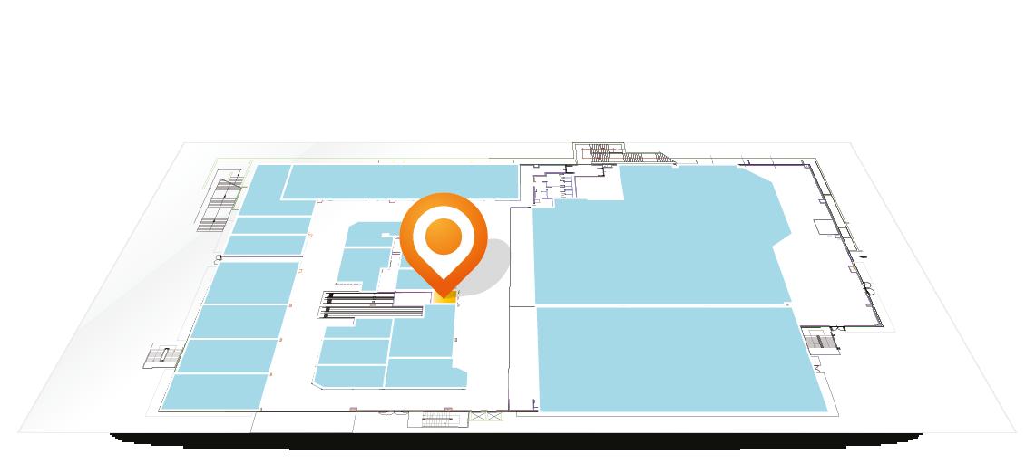 Siamo presenti nell'area 19bis del Centro Commerciale Arcobaleno