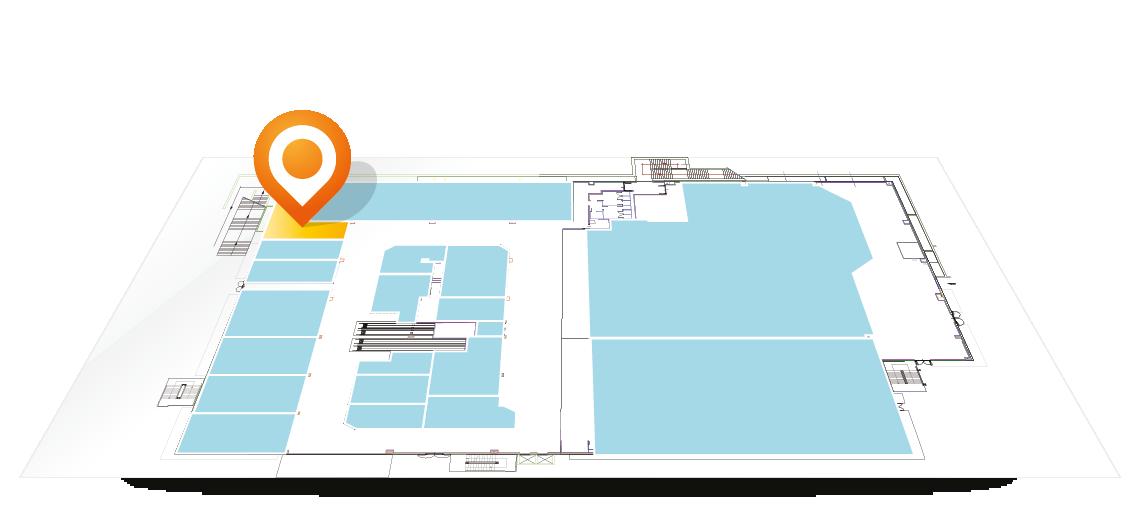 Siamo presenti nell'area 16bis del Centro Commerciale Arcobaleno