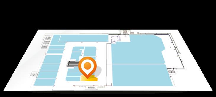 Siamo presenti nell'area 12 del Centro Commerciale Arcobaleno