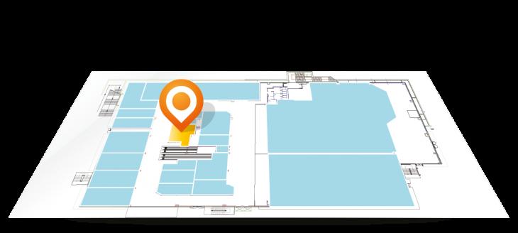Siamo presenti nell'area 16 del Centro Commerciale Arcobaleno